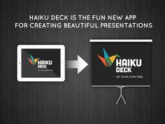 Haiku Deck-create stunning presentations on the iPad