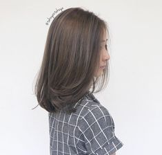 The ash with babylights ********** CLEO hair international Tong Sen Street Singapore call or msg Medium Hair Cuts, Short Hair Cuts, Medium Hair Styles, Short Hair Styles, Haircuts For Long Hair, Hairstyles Haircuts, Pretty Hairstyles, Hair Inspo, Hair Inspiration