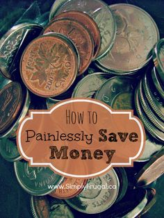 Are you looking for a few ways to help you put more money into your savings account?  Check out these tips that will make make saving money a little less painful.