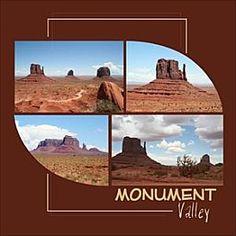 Monument Valley layout. http://scrappezlestoutes.over-blog.com/130-index.html