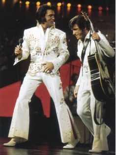 Elvis and Charlie Hodge Aloha 1973