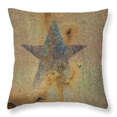 """Faded Glory 16"""" x 16"""" Throw Pillow by Christi Kraft, $45.  Multiple sizes available."""