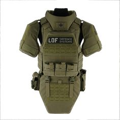 LOF Defence – Sentinel – Body Armour Carrier System – Made In Canada – tactical