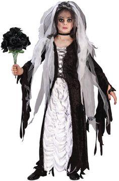 coffin bride child costume | large (12-14)