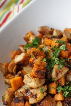Sweet Potato Chicken Hash — Broke and Cooking Sweet Potato Chicken Hash — Broke and Cooking,Food and Drink Sweet Potato Chicken Hash Sweet Potato Hash, Mashed Sweet Potatoes, Sweet Potato Casserole, Sweet Potato Recipes, Chicken Recipes, Chicken And Sweet Potato Recipe Healthy, Chicken Hash Recipe, Savoury Dishes, Tasty Dishes