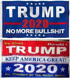 2 - TRUMP Flag Bundle Deal - You get both flags for each deal ordered Trump Flag, Silent Majority, Trump Train, Smoker Recipes, Stunning Eyes, 2nd Amendment, Cyber Monday, Tik Tok, Sale Items