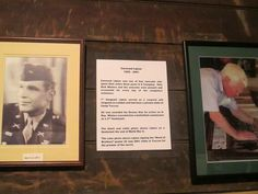 A picture of Carwood Lipton hanging in the stable that is housed in the Currahee Military Museum. Operation Market Garden, Band Of Brothers, Museum, Military, Easy, Travel, Viajes, Destinations