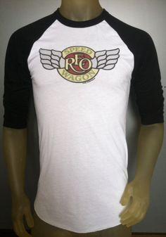 REO Speedwagon tshirt new vintage style concert by BobsShirtShop, $31.99