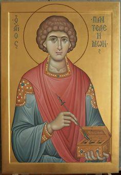 Paint Icon, Byzantine Icons, Orthodox Icons, Religious Art, Saints, Children, Artwork, Fresco, Young Children