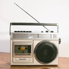 Vintage Panasonic RX-1230 Cassette Boombox Radio - Great Condition.....................Please save this pin. .............................. Because for vintage collectibles - Click on the following link!.. http://www.ebay.com/usr/prestige_online