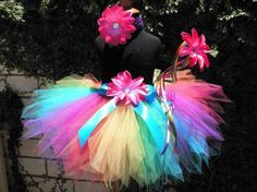 Bright and magical tutu outfit