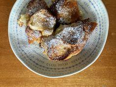 Nejlepší žemlovka - recept s tvarohem a jablky, z rohlíků 🍎 French Toast, Food And Drink, Breakfast, Morning Coffee