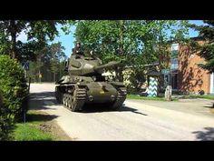 Fordonsparad hos Försvarsmakten i Kvarn - 1 juni 2013 - YouTube