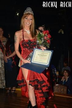 Winner :) Miss Nude 2012 Masters Division, Miss Nude 2012 Entertainer of the Year, also best fire show and best legs!!