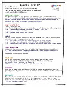 cv template for first job What Should I put on my First CV? (Template) #sampleResume #FreeResume