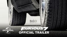 De trailer voor Furious 7, komt 3 april volgend jaar in de bios. Wachten duurt te lang, ziet er spectaculair uit!