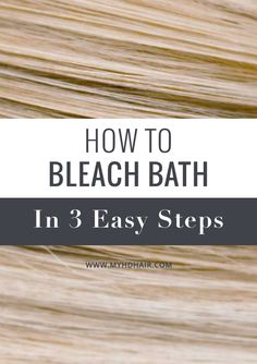 Bleach bathing is another approach to the Bleaching process. It is a perfect step by step process that is not as strong, so it is not as damaging as the full strength Bleaching process. It is ideal to Bleach Wash Hair, Bleach Shampoo, Bleach Blonde Hair, Bleach Bath, How To Bleach Hair, Toning Blonde Hair, Shampoo Cap, Bleaching Dark Hair, Bleaching Hair At Home