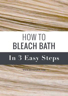 do a bleach wash on your hair bleach wash and hair steps