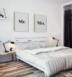 Home decor - stylish bedroom / dormitorio con estilo - decoración del Hogar