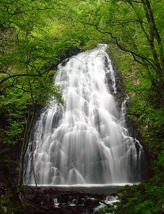 Crabtree Falls off Blue Ridge Parkway in North Carolina  CLICK THE PIC and Learn how you can EARN MONEY while still having fun on Pinterest