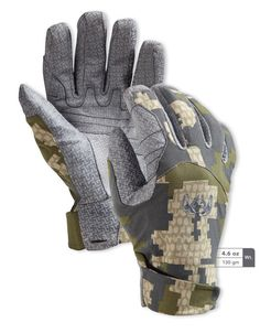 Yukon Pro Glove features a waterproof glove membrane for protection in wet hunting conditions. Hunting Tips, Archery Hunting, Hunting Gear, Tactical Clothing, Tactical Gear, Hunting Gloves, Insulated Gloves, Waterproof Gloves, Warriors Shirt