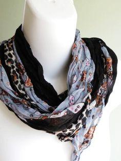 5f335256e874 Women Accessories  Leopard Print Schal Luxury Woman Schal von  DesignerScarvesWorld