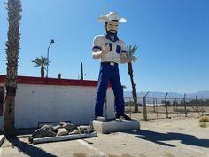 muffler man cowboy