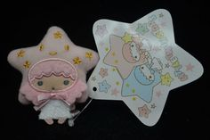 Sanrio Little Twin Stars Mini Mascot Plush Doll Lala Star Edition