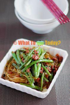 bean thread noodles 4 servings braised green beans with bean thread ...