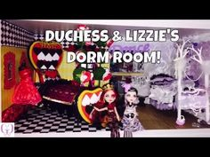 Monster High Beds, Lizzie Hearts, Joanns Fabric And Crafts, Ever After Dolls, Lol, Ever After High, Joann Fabrics, Dorm Room, Scrapbook Paper