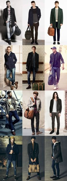 Men's Travel Lookbook Outfit Inspiration