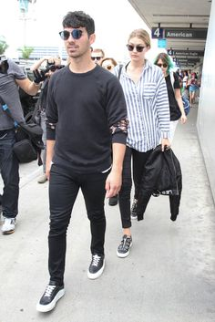 Gigi Hadid and Joe Jonas's Couple Style Will Make You Fall Madly in Love With Them | POPSUGAR Fashion UK