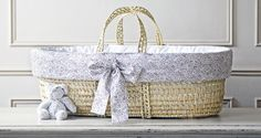 WIN! Piccoli & Co's Luxury Liberty Print Moses Basket