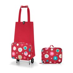 Reisenthel Shopping foldabletrolley funky dots 2