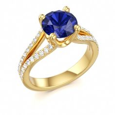 Sapphire version. Sapphire and gold are always beautiful together.