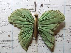 Vintage crepe paper butterflies | Flickr - Photo Sharing!