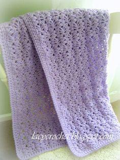 Lacy Crochet: Free Baby Blanket Patterns