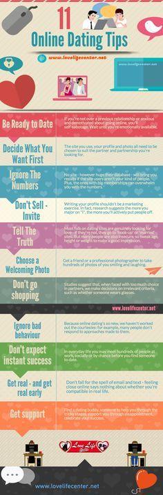 11 Online Dating Tips #OnlineDating #DatingTips #infographic