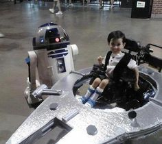 Star Wars wheelchair costume. I love it!