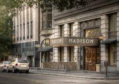 Madison by Jason Lee on Capture Memphis // Entrance to Madison hotel.