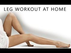Leg Slimming Workout (At Home Thigh Toning Exercises!!) - YouTube