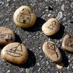 Draw images on stones. Put the stones in order and make up a story using the images as your story board.