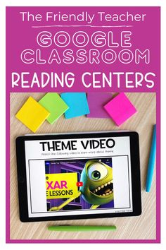 Use digital reading centers during the distance learning school year or in the elementary reading classroom. These google reading centers target specific skills for your students to practice independently and to grow as readers. These reading stations could also be used as whole group lesson or small group instruction. Close Reading Strategies, Reading Skills, Guided Reading, Reading Stations, Reading Centers, Fun Test, Test Prep, Sixth Grade Reading, Listen To Reading