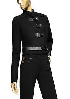 Versace - Belted Short Jacket
