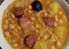 Spanish Kitchen, Spanish Dishes, Savoury Cake, Sin Gluten, Cheeseburger Chowder, Tofu, Macaroni And Cheese, Oatmeal, Vegetables