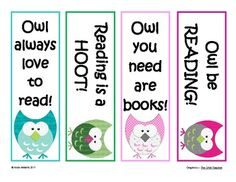 Bookmarks to Inspire Reading - Owl Themed - FREE image 2