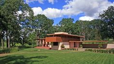 The Gordon House was based upon Wright's concept of the Usonian house, which was meant be more affordable. Designed in 1956 with a budget of $25,000, building did not begin for 6.5 years and construction estimates more than doubled to $56,000. Photo courtesy of the Gordon House Conservancy