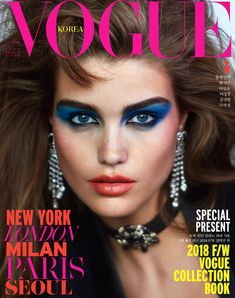 Publication: Vogue Korea July 2018 Model: Luna Bijl Photographer: Hyea W. Kang Vogue Korea July 2018 Model: Luna Bijl Photographer: Hyea W. Vogue Covers, Vogue Magazine Covers, Fashion Magazine Cover, Fashion Cover, Vogue Korea, Vogue Russia, Vogue Spain, Beauty Editorial, Editorial Fashion