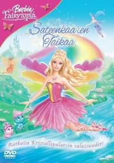 Barbie - sateenkaaren taikaa (DVD) 6,95