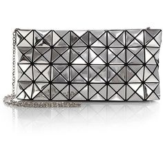 Bao Bao Issey Miyake Platinum-1 Metallic Faux-Leather Clutch and other apparel, accessories and trends. Browse and shop 8 related looks.